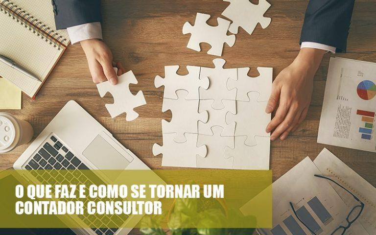 O Que Fazer E Como Se Tornar Um Contador Consultor - Contabilidade Consultiva | Marco Educação