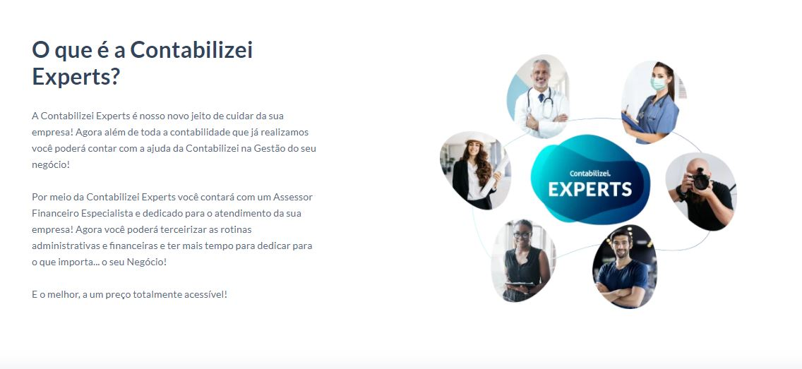 O Que é A Contabilizei Experts - Gestão de Empresas Contábeis   Marco Educação